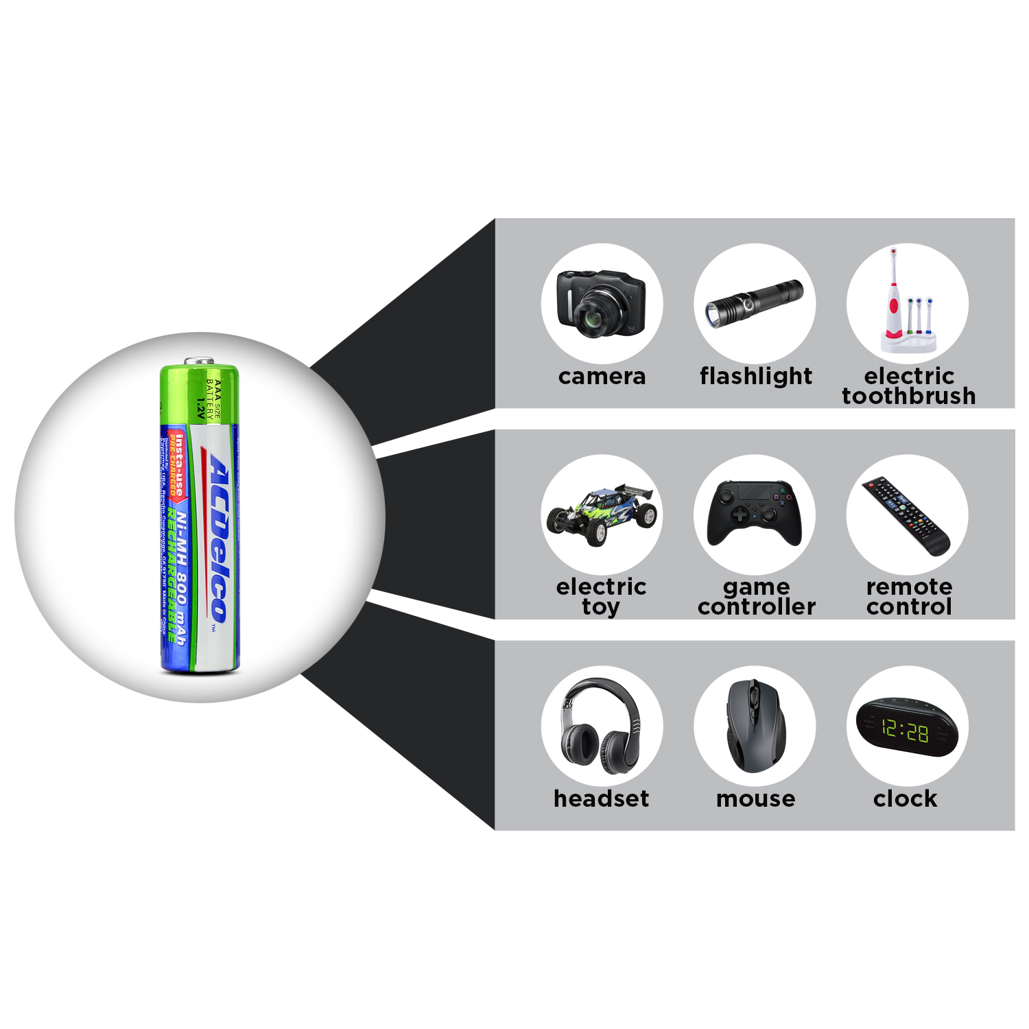 hight resolution of aaa battery diagram