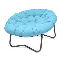 Large Saucer Chair Cover Cheap Beach Chairs Urban Shop Xl Oversized Mu Walmart Com