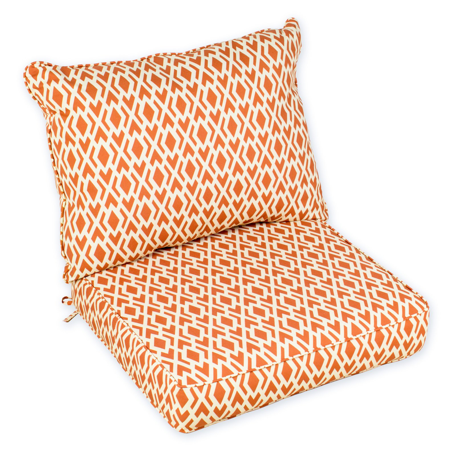boxed chair cushions ikea sofas and chairs coral coast geo edge outdoor cushion walmart