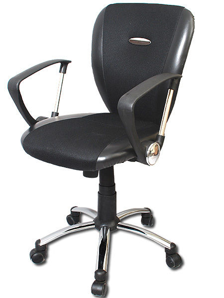 executive mesh office chair folding floor bodymade mid back black walmart com
