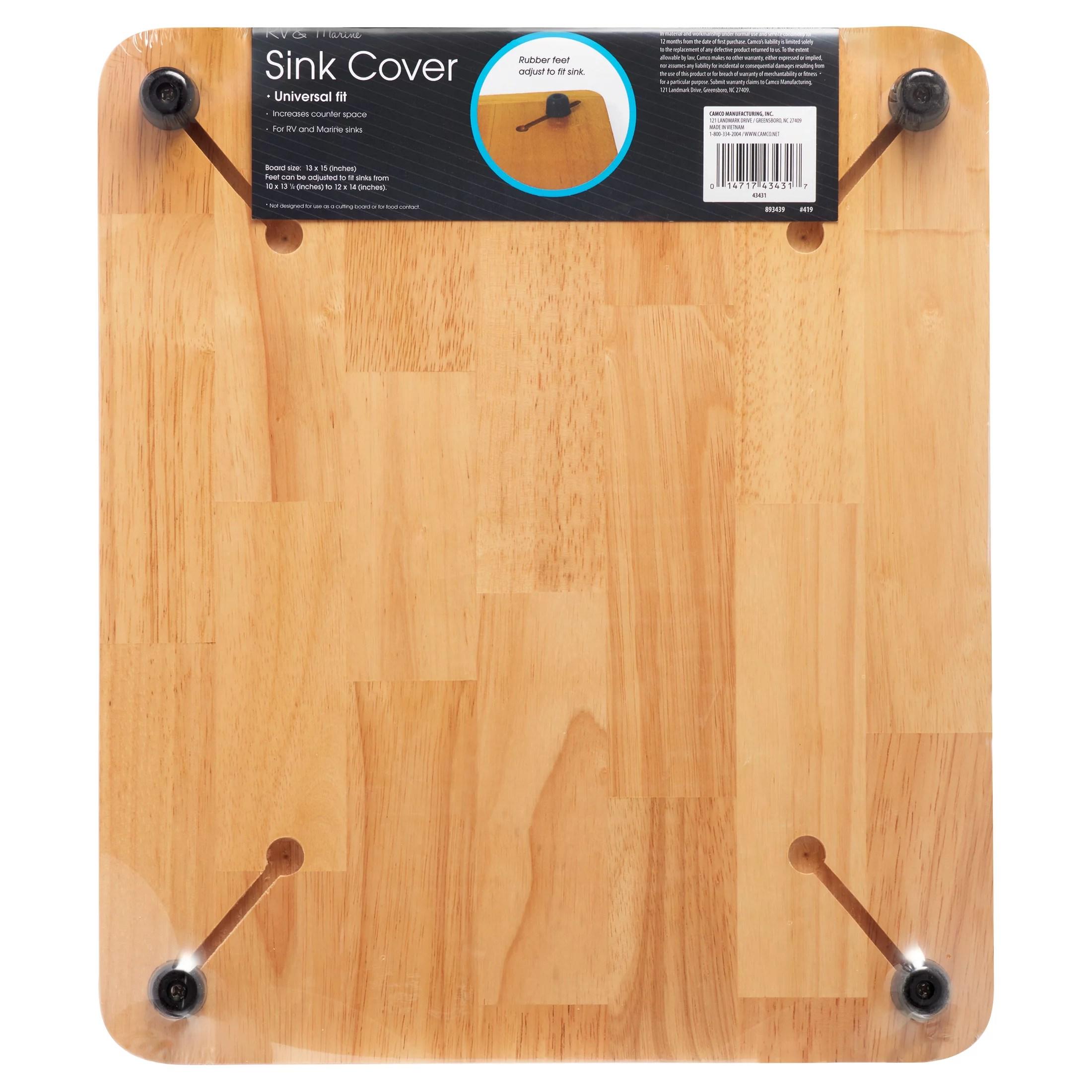 oak accents sink cover 13in x 15in