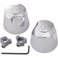 Universal Handles Faucet Chrome 2-Pack