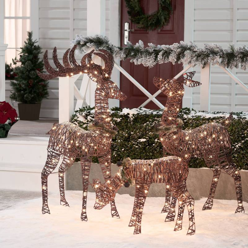 Holiday Time Light Up Outdoor 3 Piece