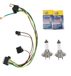cf advance for 02 05 mercedes benz c230 c320 left or right headlight wiring harness and h7 100w headlight bulb 2002 2003 2004 2005 walmart com [ 1900 x 1900 Pixel ]