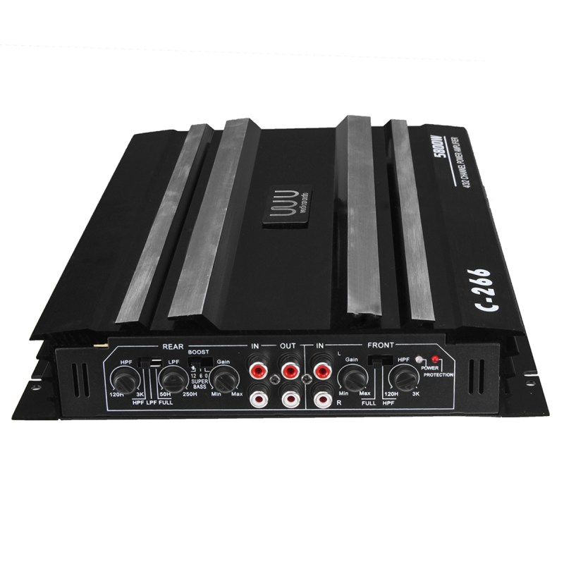 stereo car equipment amplifier