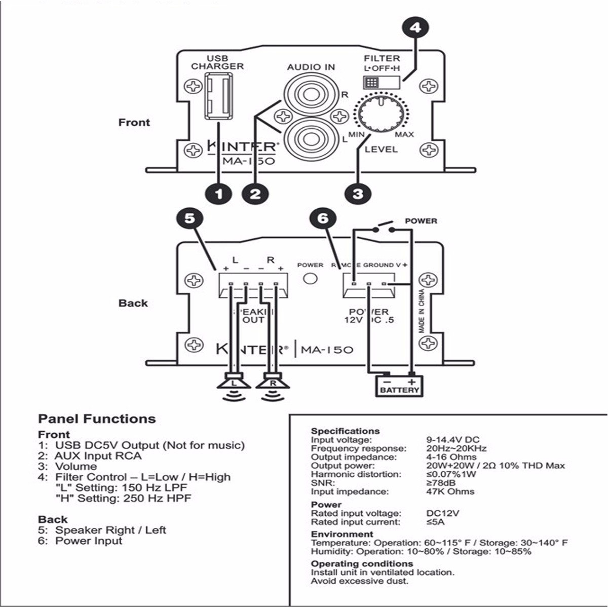 2 Channel Lifier Home Audio Wiring. Diagram. Auto Wiring