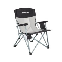 Camping Chairs At Walmart Fisher Price Space Saving High Chair Kingcamp Mesh Back Folding Com