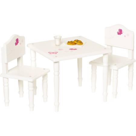 "My Life As 18"" Doll Furniture, Table and Chairs"