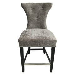 Damask Accent Chair Desk Wood Hd Couture Cosmo Chandelier Set Of 2 Walmart Com
