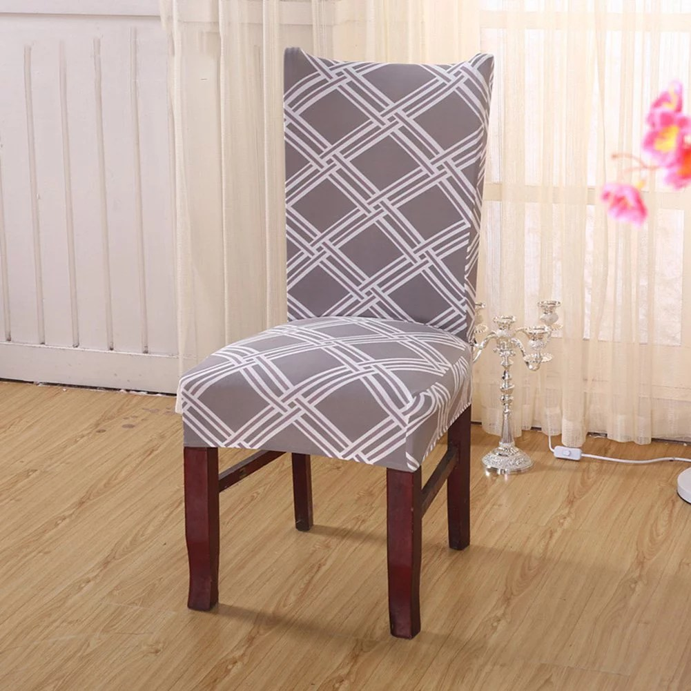 high back chairs living room old world design ideas chair cover replacement for dining universal stretch elastic protector seat covers