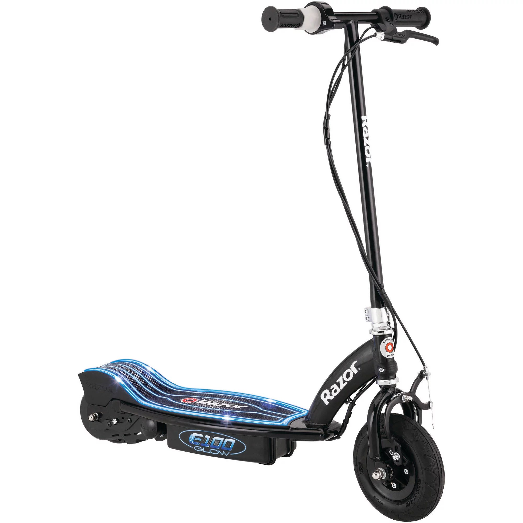 hight resolution of walmart for product image razor e100 electric powered glow electric scooter black satellite electric scooter razor wiring diagram