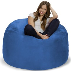 Memory Foam Bean Bag Chair Reviews Stadium Folding Chairs 4 Ft Walmart