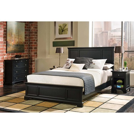 bedford 3-piece bedroom set - full/queen headboard, nightstand and