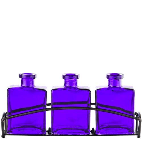 Couronne Rio 3 Piece Glass Table Vase Set - Walmart.com
