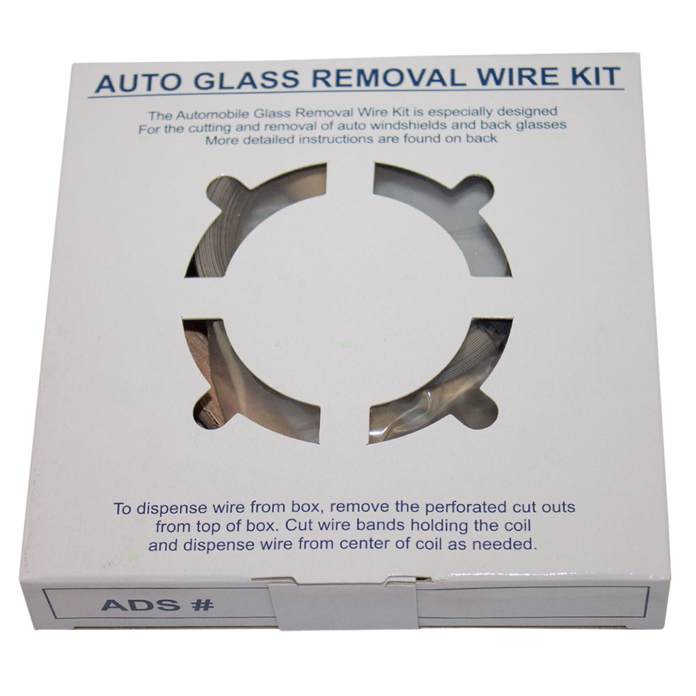 medium resolution of windshield auto glass removal wire kit 213 ft stainless steel piano wiring w 4 handles for auto glass cutting repair disposal walmart com