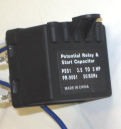 hvac air conditioning super torque kick start potential relay capacitor pss1 walmart com [ 2392 x 2272 Pixel ]
