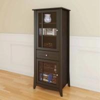 Elegance Curio Cabinet, Espresso - Walmart.com