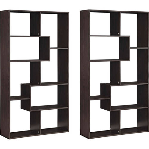 espresso book shelves walmart com