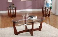 Olivia 3 pc Glass Coffee Table Set - Walmart.com
