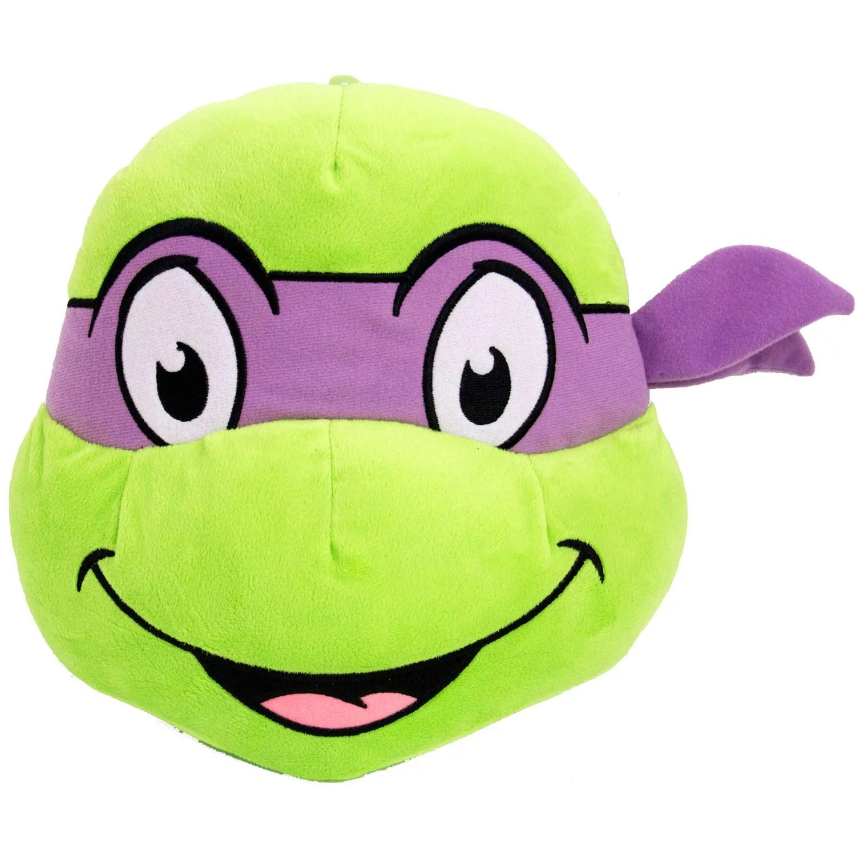 teenage mutant ninja turtles donatello face pillow walmart com