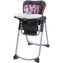 High Chairs At Walmart Chaise Lounge Outdoor Graco Slim Spaces Chair In Caris Com Departments