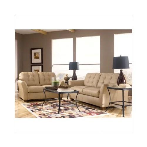 Ashley Furniture Carmichael Leather Sofa and Loveseat Set
