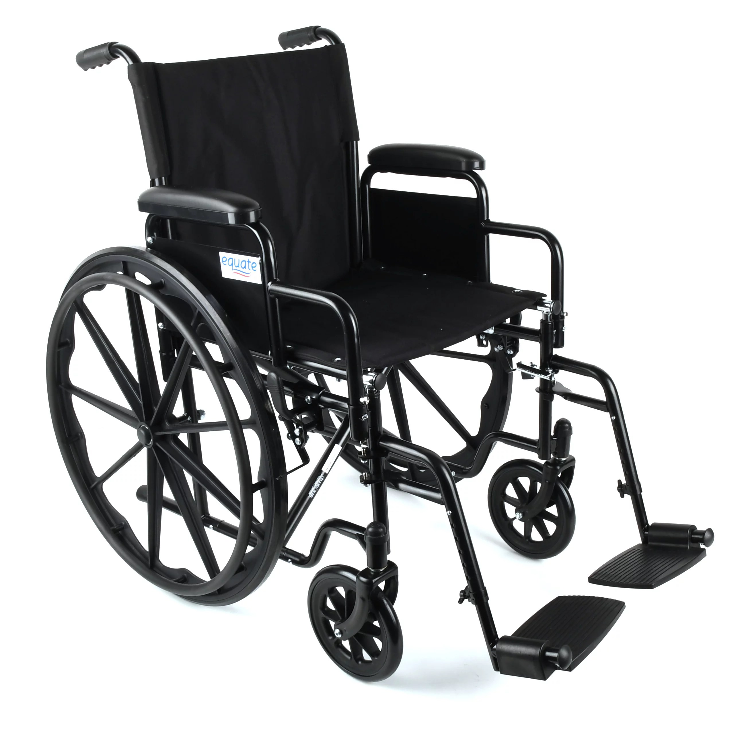 transport chairs at walmart cleo pedicure chair manual equate wheelchair black