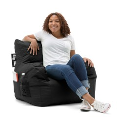 Big Joe Bean Bag Chair Multiple Colors 33 X 32 25 Bent Wood Manufacturers Walmart Com Departments