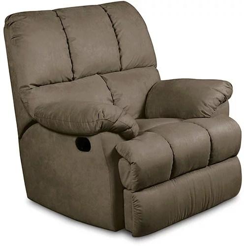 Massaging Recliner Chair, Beige
