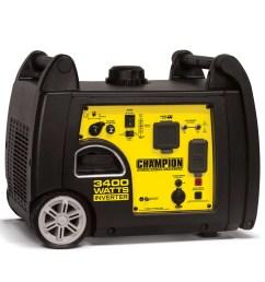 champion 100233 3400 watt rv ready portable inverter generator walmart com [ 1536 x 1536 Pixel ]