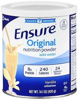 Ensure Powder Homemade Vanilla Shake - 14 oz - Walmart.com