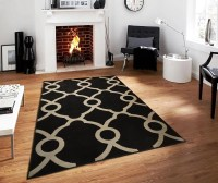 Modern Area Rugs on Clearance 5x7 Contemporary Black ...