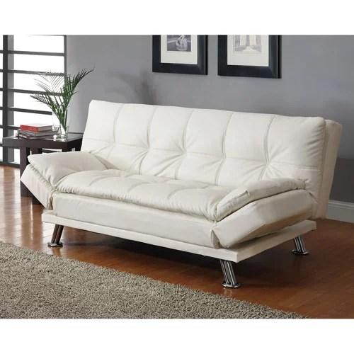 Dilleston Contemporary Sofa Bed White  Walmartcom