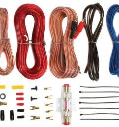 planet audio pcblk2 0 2 farad car digital capacitor cap led 8 ga amp kit walmart com [ 1360 x 1207 Pixel ]