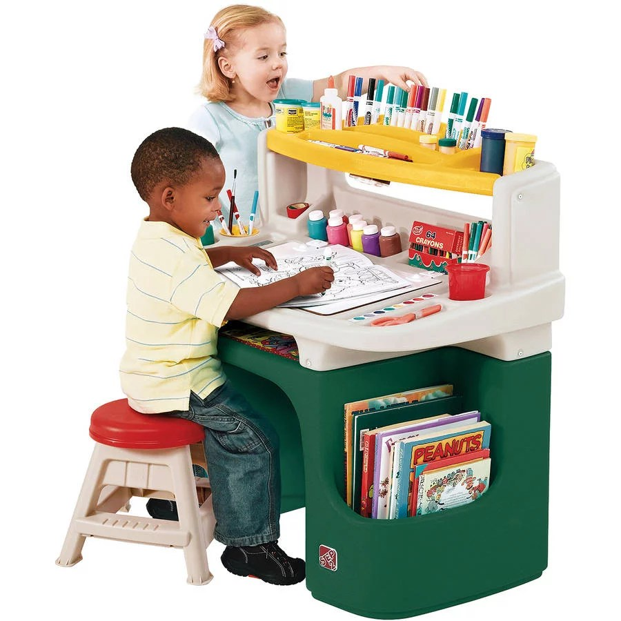 Step2 Art Master Desk Includes a Sturdy 11 inch Stool