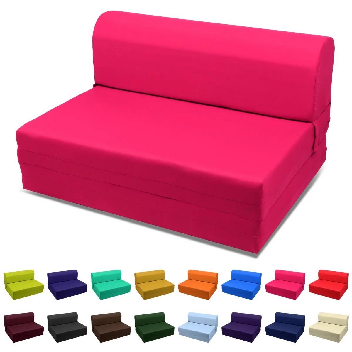 sleeper chair folding foam bed full size wheelchair lift for sale magshion sized 5x46x74 inch purple walmart com
