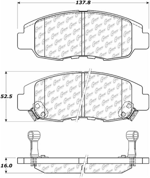 Go-Parts OE Replacement for 1998-2002 Honda Accord Front
