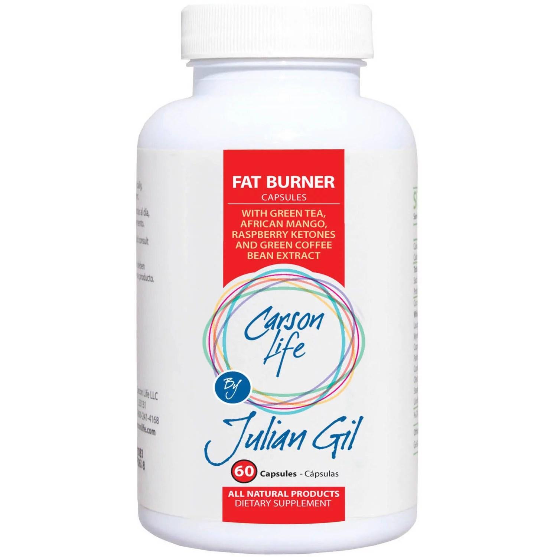 Carson Life by Julian Gil Fat Burner Weight Loss Pills 60 ...