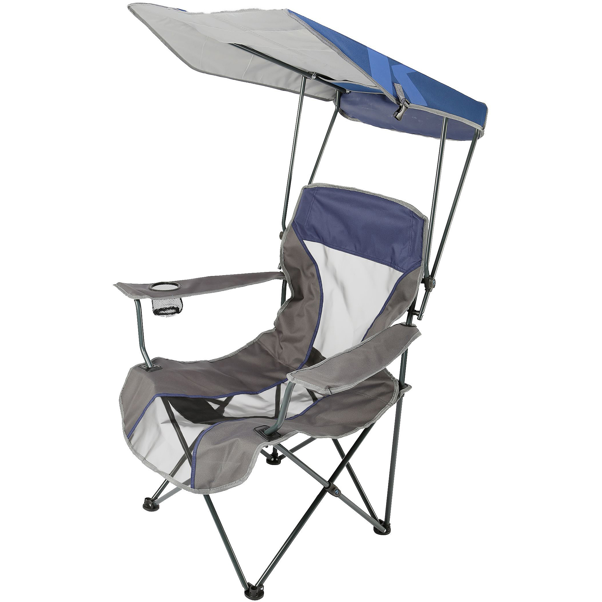 Outdoor Chair With Canopy Lawn Chair With Canopy And See The Folding Reclining Lawn