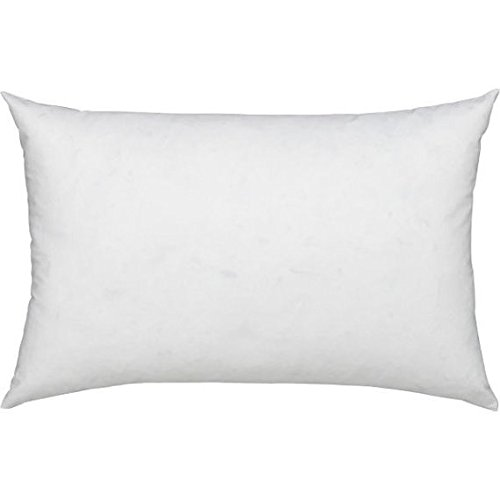 comfydown 95 feather 5 down 14 x 32 rectangle decorative pillow insert sham stuffer made in usa