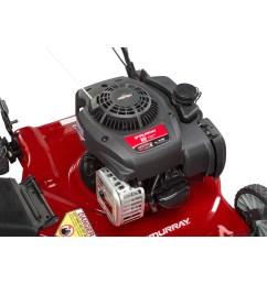 murray 20 125cc gas powered side discharged push lawn mower walmart com [ 2000 x 2000 Pixel ]