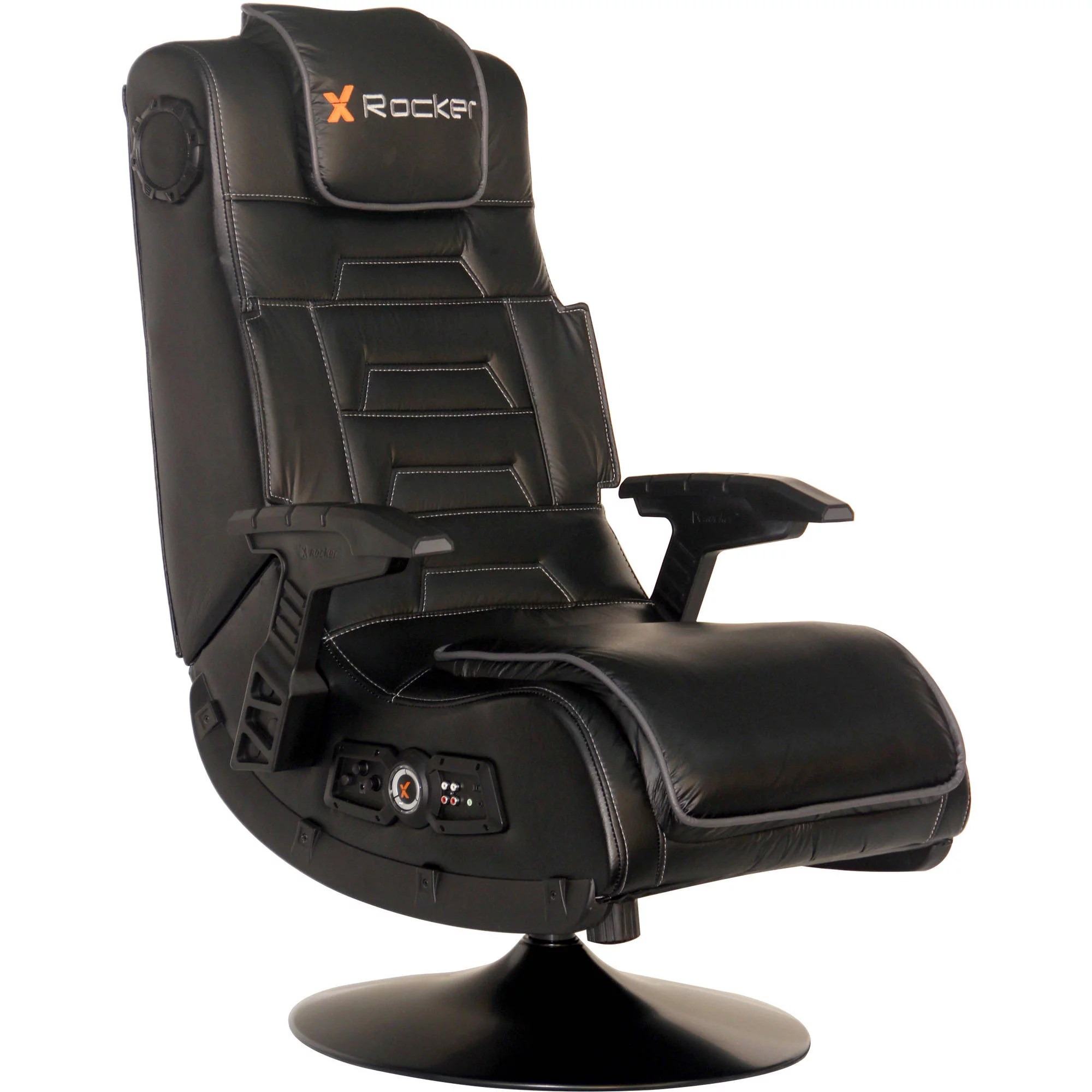 Gaming Chair With Speakers X Video Rocker Pro Series Pedestal 2 1 Wireless Audio