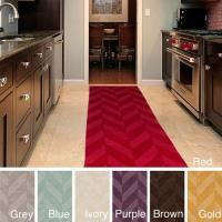Surya Carpet, Inc. Hand-Woven Ann Tone-on-Tone Zig-Zag ...