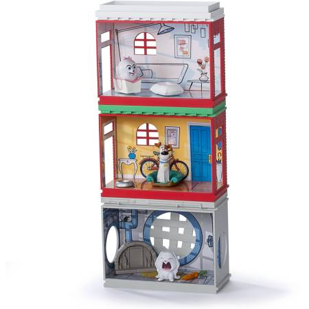 The Secret Life Of Pets Mini Apartments Gift Set With 3