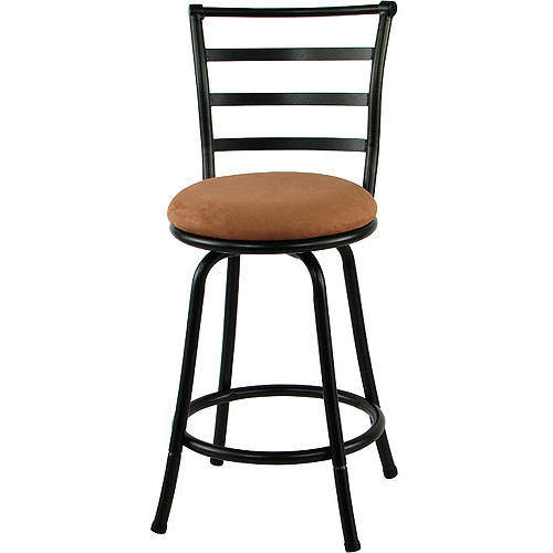 bar stool chairs the chair store mainstays 24 ladder back barstool multiple colors walmart com