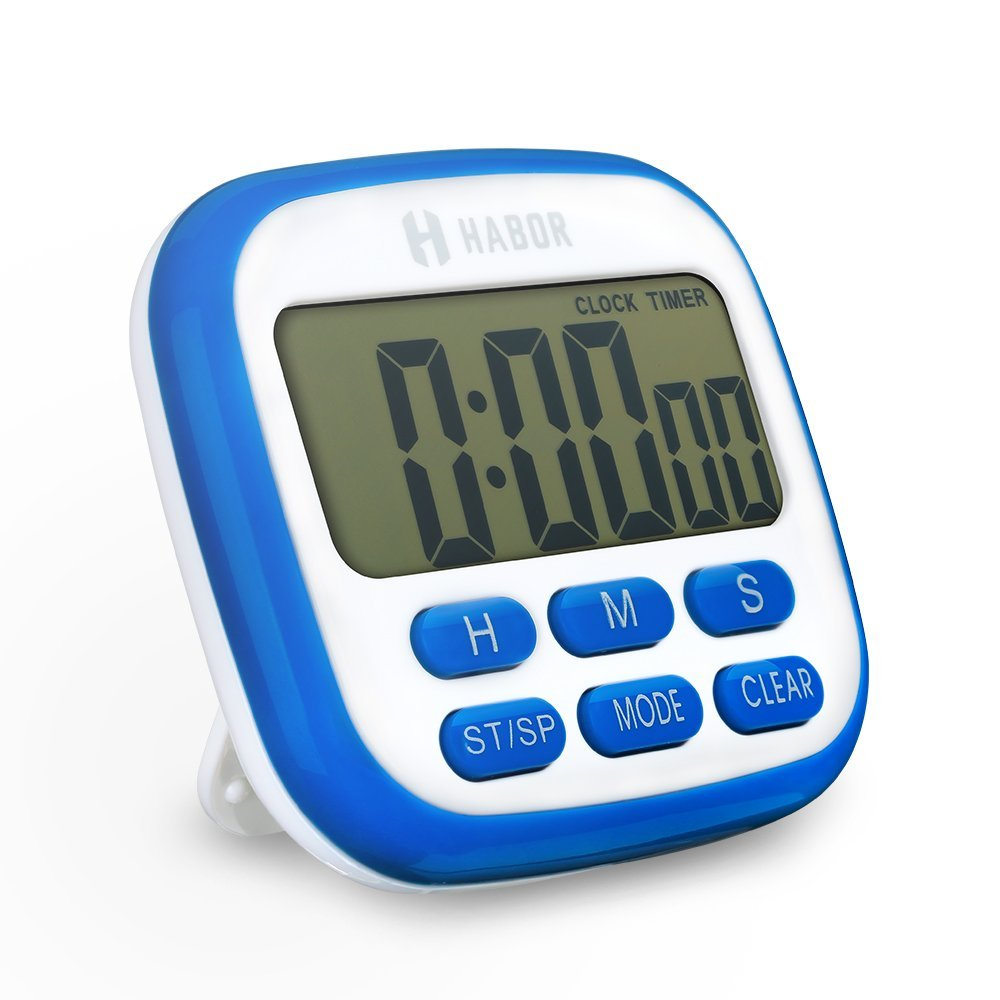 digital kitchen timers art decor habor timer electric fitness lcd display clock second