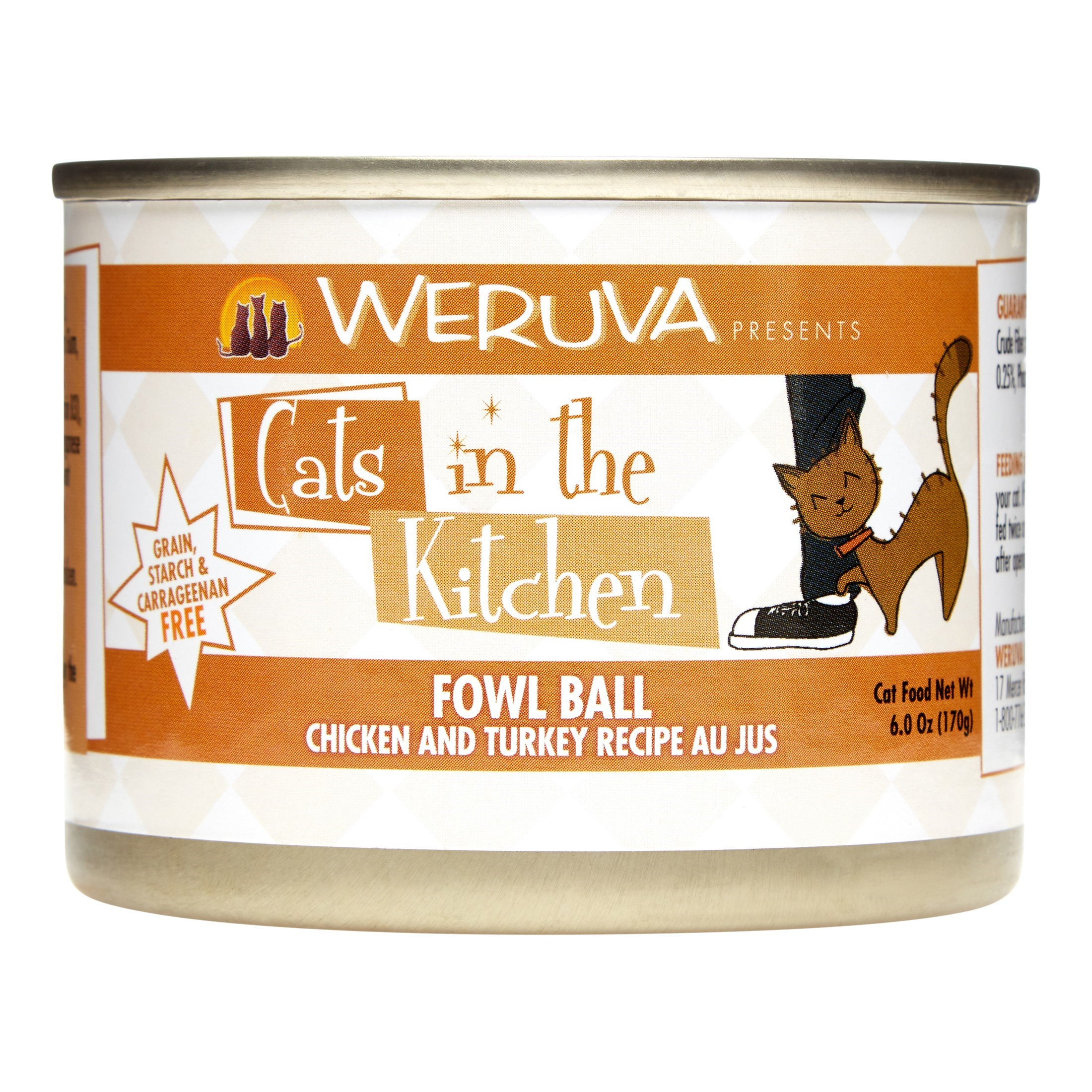 cats in the kitchen small island with seating weruva grain free fowl ball chicken tuckey recipe wet cat