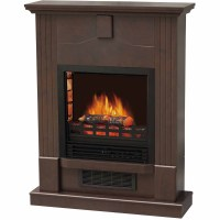 DECOR FLAME Electric Space Heater fireplace with 28 ...