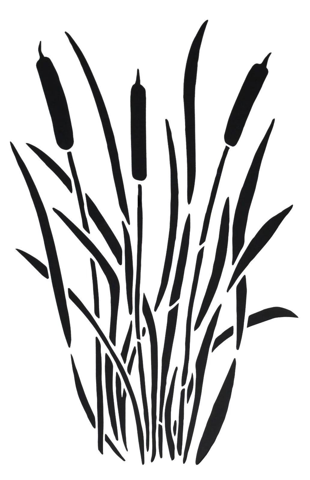 Geeky Printable Camo Stencil