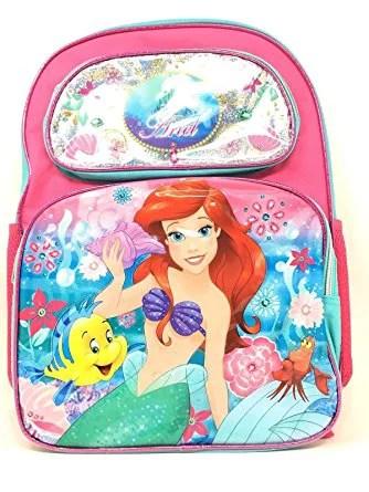 backpack disney little mermaid
